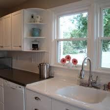 Kitchen Sink Backsplash Ideas Kitchen Backsplash Ideas With Brown Tile Wall Decor And