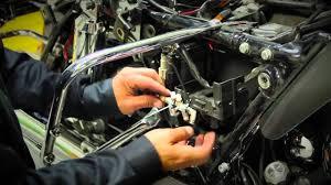 installing arnott u0027s adjustable rear motorcycle suspension on a