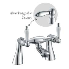 cooke u0026 lewis wave chrome bath shower mixer tap departments