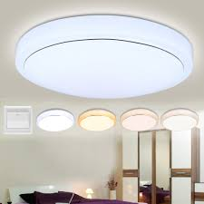 kitchen ceiling lights flush mount adjustable round led ceiling pendant fixture 4 mode light