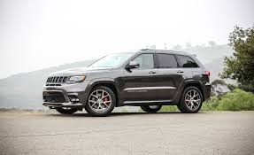 gray jeep 2017 2017 jeep grand cherokee srt pictures photo gallery car and driver