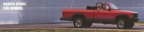 1989 dodge dakota sport convertible cars only bob lutz remembers the dodge dakota convertible the