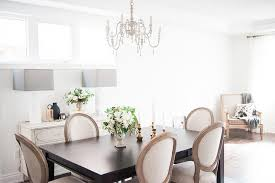 Restoration Hardware Dining Room Chairs Dark Brown Dining Table With Vintage French Round Fabric Side