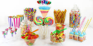 Minions Candy Buffet by Rainbow Candy Buffet Party Delights