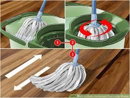 Best Way To Clean Hardwood Floors Vinegar 3 Ways To Clean Hardwood Floors With Vinegar Wikihow