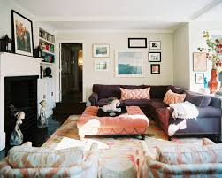 Sectional Sofa Living Room Bohemian Living Room Photos Sectional Couches Ottomans And Bohemian