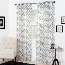 Embroidered Curtain Panels Yorkshire Home Valencia Embroidered Curtain Panel 95