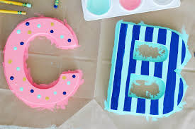 charming diy wooden letters 17 diy wood letters for nursery polka