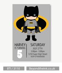 free printable batman invitations cards or labels birthday