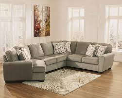 patola park patina sectional sofa with cuddler seat marjen of