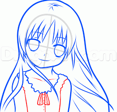 how to draw an anime kid step by step anime people anime draw