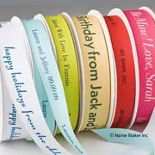 personalized ribbon personalized ribbons name maker