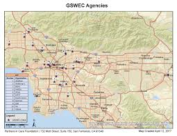 Cal State Dominguez Hills Map by Geriatric Social Work Education Consortium Partners In Care
