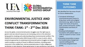 environmental justice and conflict transformation think tank