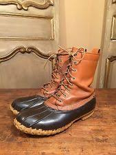 s boots size 9 wide l l bean wide e w boots for ebay
