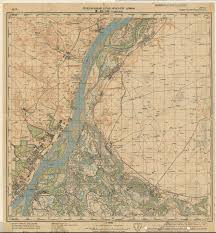 Geography Of Russia by This Is A Topographical Map Of Stalingrad Circa 1941 Today It U0027s