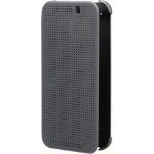 htc dot view premium case for one m9 onyx black 99h 20090 00