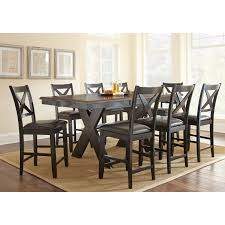 Steve Silver Violante Counter Height Dining Table Hayneedle - Dining room table sets counter height