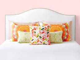 how to place throw pillows on a bed 6 bedroom pillow arranging tricks to try hgtv