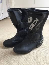 ladies motorbike boots sidi black rain waterproof ladies motorcycle boots size 5 5 in