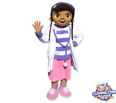 doc mcstuffins kids party character rental ny clowns