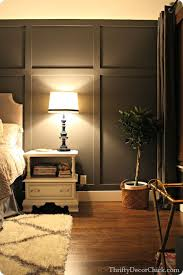 accent walls in bedroom how to create a board and batten accent wall thrifty decor chick