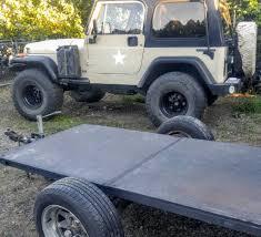 jeep gear hauling trailer