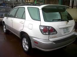 lexus rx300 in nairaland lexus rx 300 2003 1m380 autos nigeria
