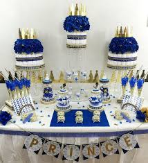 Royal Prince Decorations Royal Prince Baby Shower Candy Buffet Centerpiece Oh Baby Boy