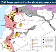 Homs Syria Map by Isw Blog Russian Airstrikes In Syria December 22 2015 January