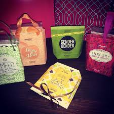 mini gift bags from chunk bar wrappers facebook com