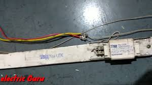 how to connect wiring connection of tubelight electric guru