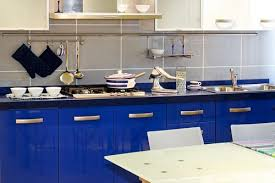 Blue Kitchen Design Kitchens In Five Colors Yellow White Blue And Green