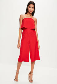 Red Jumpsuits For Ladies Jumpsuits Shop Jumpsuits For Women Missguided