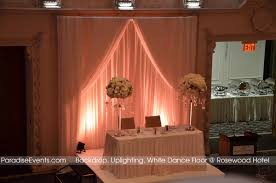 wedding backdrop with lights wedding decor vancouver room draping centerpiece flower