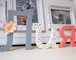 Decorating Wooden Letters Cyrillic Letters Etsy