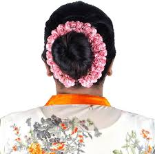 flower decoration for hair majik artificial flowers for bun decoration hair band price