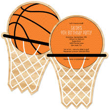 basketball party supplies 12pcs basketball theme invitations card party decor personalized