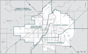 Saskatoon Canada Map by Final Report U2013 Saskatchewan Redistribution Federal Electoral