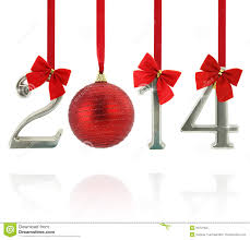 2014 new year ornaments royalty free stock photo image 29751005