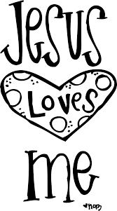 god loves you printable coloring jesus coloring free cliparts
