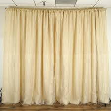 20 feet x 10 feet natural brown burlap backdrop curtain from balsa