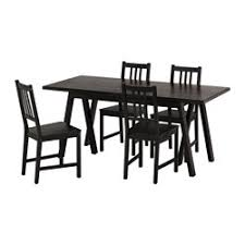 ikea black brown dining table dining table sets dining room sets ikea