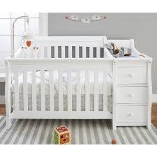 Princeton Convertible Crib by Sorelle Princeton Elite Crib And Changer White Jpg