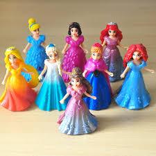 aliexpress buy 8pcs lot disney dress dolls frozen