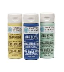 martha stewart crafts 2oz high gloss acrylic craft paint joann