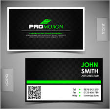 back business card modern business cards front and back template vector free vector