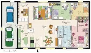 plan de maison de plain pied avec 4 chambres plan maison de plain pied 4 chambres mineral bio