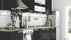 kitchen wall cabinets with glass doors b q gloss black slab kitchen cabinet doors fronts kitchens