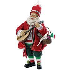 kurt adler 10 fabriché musical italian santa jcpenney